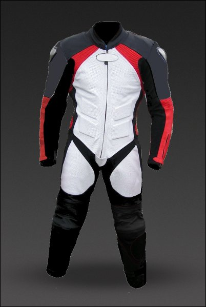 Elite One-Piece Motorcycle Racing Leathers (Standard Sizes)