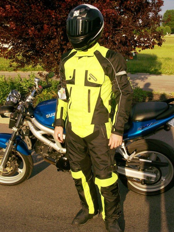 Convertible 2pc Sport-Touring Textile Suit