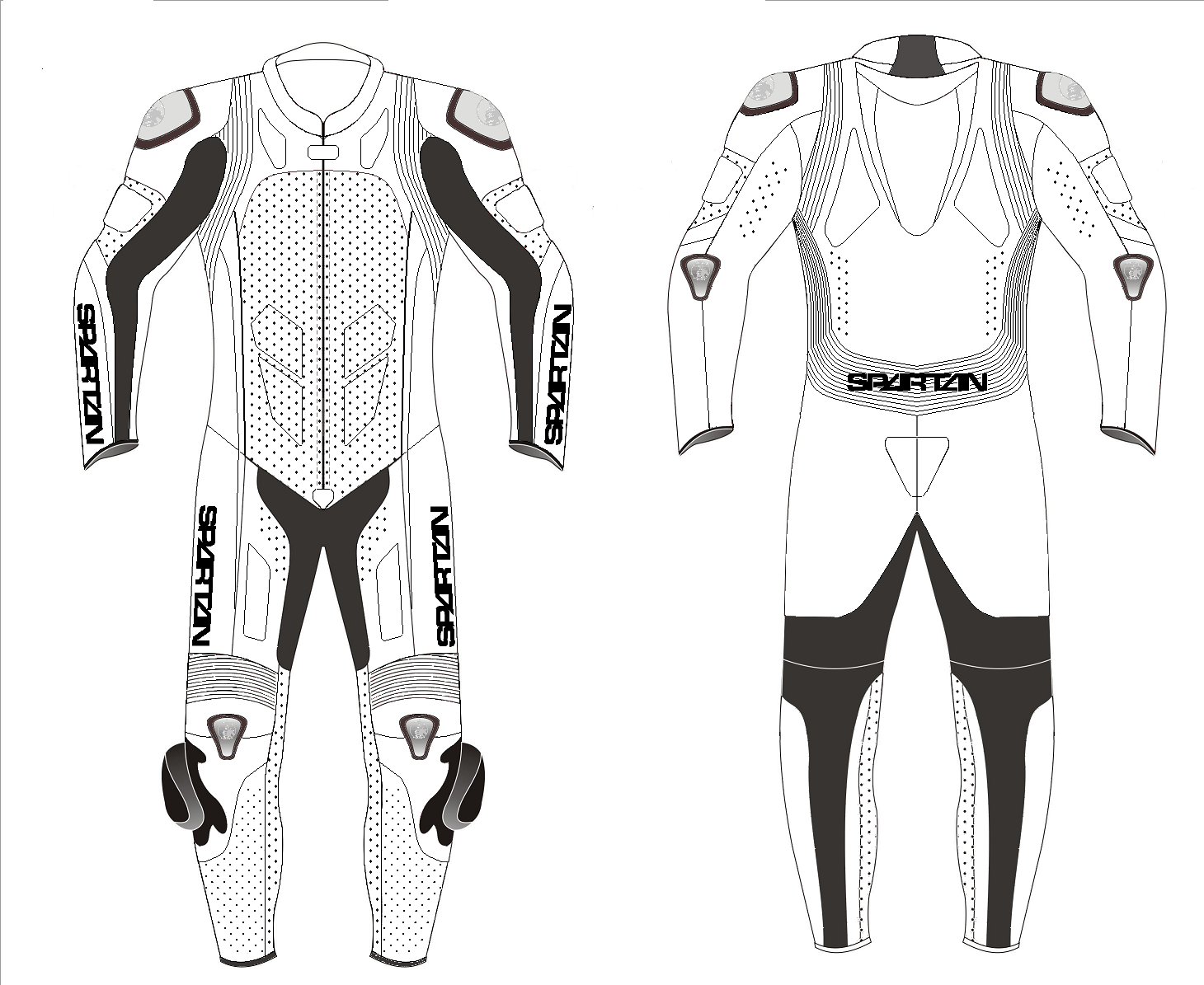 Sl 1 One Piece Motorcycle Racing Leathers Custom